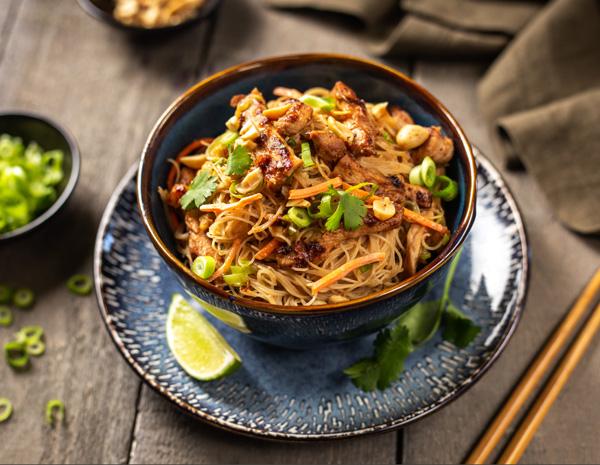 Hoisin Pork and Noodles