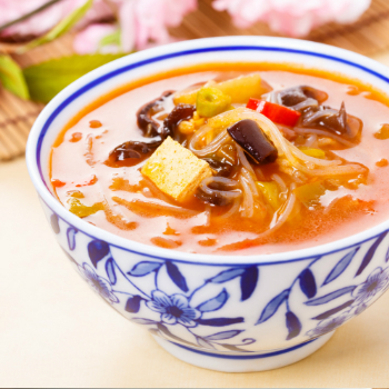 Recipe Hot and Sour Soup with premium Soy Sauce S