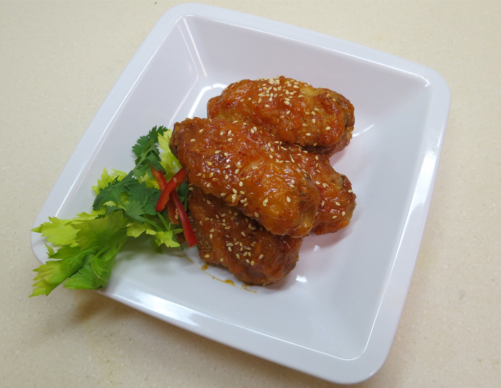 Recipe Hot and Spicy Chicken Wings