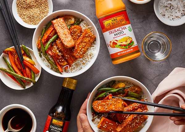 Recipe Korean Tempeh Bowls