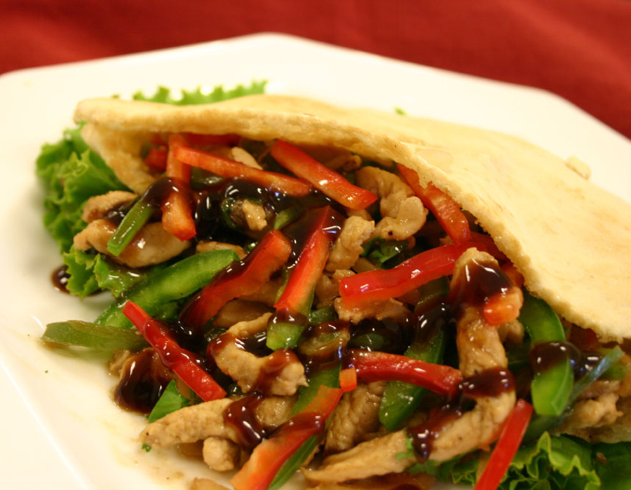 Recipe Leftover Turkey Wrap with Oyster Flavored Sauce