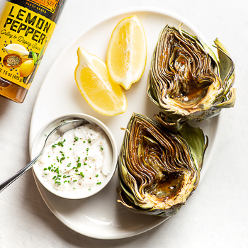 Recipe Lemon & Herb Roasted Artichoke S