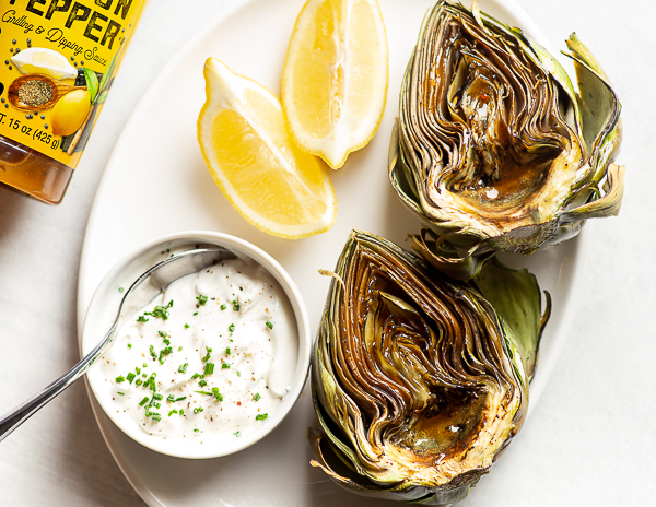 Recipe Lemon & Herb Roasted Artichoke