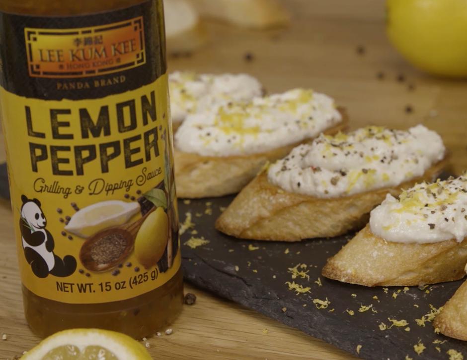 Recipe Lemon Feta Crostini