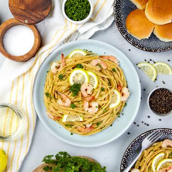 Recipe Lemon Pepper Shrimp Scampi S