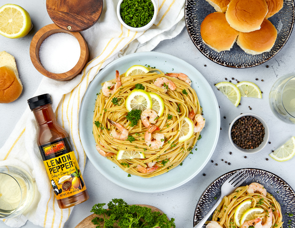 Recipe Lemon Pepper Shrimp Scampi