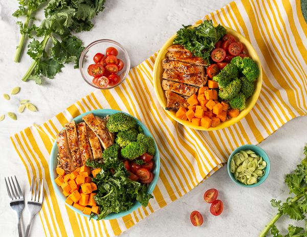 Recipe Lemongrass Chicken & Rice Bowl