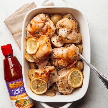 Recipe Lemongrass Chili Hoisin Baked Chicken S