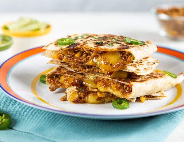 Recipe Lime Cilantro Chicken Quesadillas