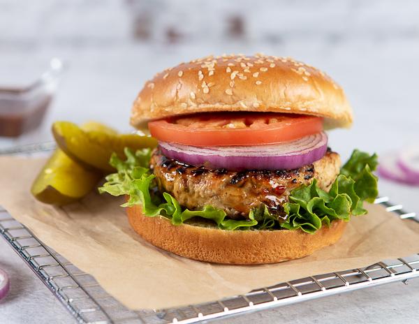 Recipe Lime Cilantro Turkey Burger