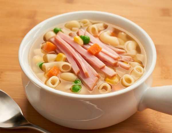 火腿湯通粉