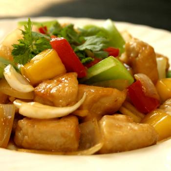 Recipe Mango Pineapple Chicken