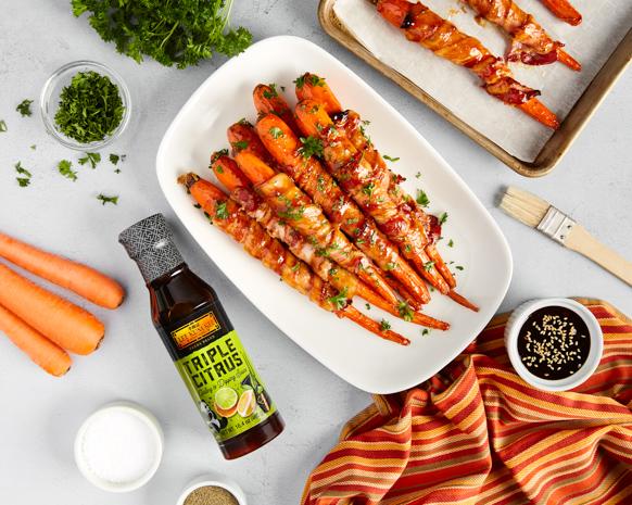 Recipe Maple Bacon CaRrots