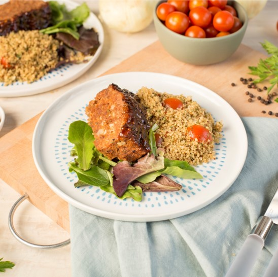 Recipe Meatloaf with Black Pepper Sauce S