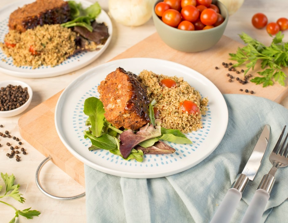 Recipe Meatloaf with Black Pepper Sauce