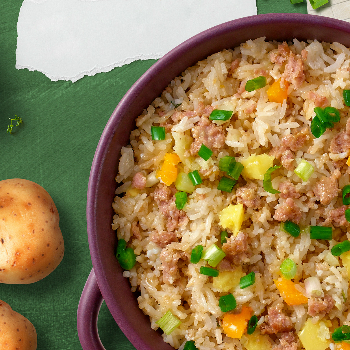 Recipe Minced Pork Rice with Potatoes S