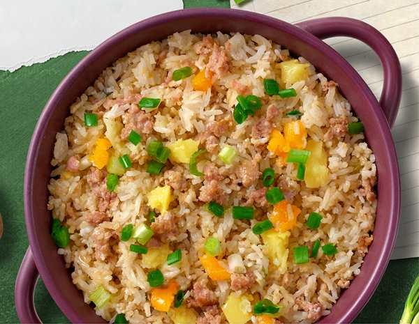 Recipe Minced Pork Rice with Potatoes