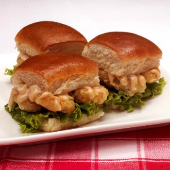 Recipe Mini Shrimp Sliders