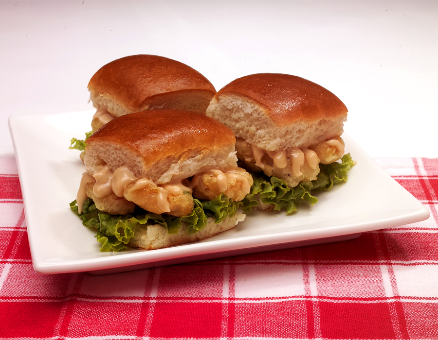 Recipe Mini Shrimp Sliders
