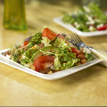 Recipe Mixed Greens and Fruit Salad with Hoisin Dressing S
