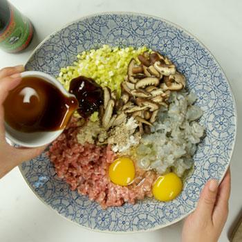 Recipe Mushroom Shrimp Pork Dumplings S
