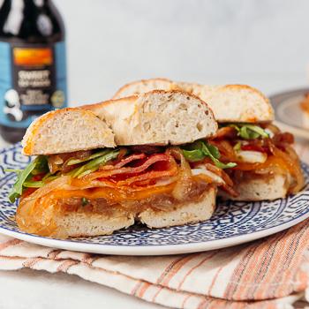 Recipe Onion & Bagel Sandwich S