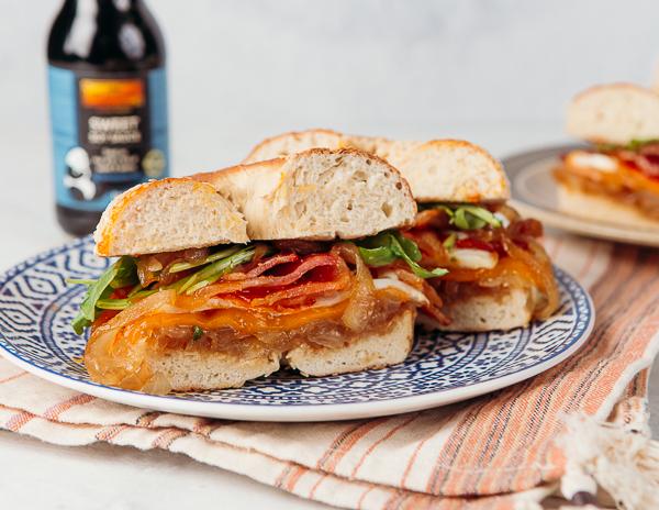 Recipe Onion & Bagel Sandwich