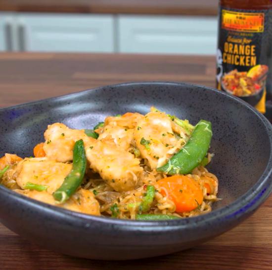 Recipe orange Chicken Lo Mein S