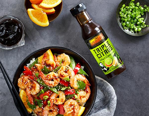 Recipe Orange Garlic Shrimp