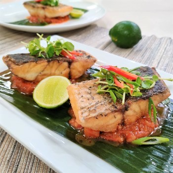Recipe Pan Fried Fish with Fine Shrimp Sauce and Chili S (1)