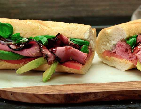 Recipe Pho Roast Beef Sandwich