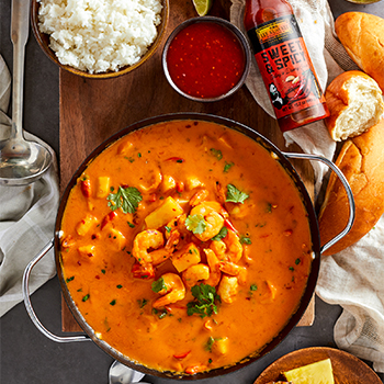 Recipe Pineapple and Shrimp Red Curry Soup S