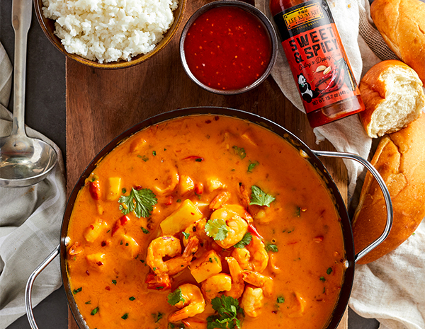 Recipe Pineapple and Shrimp Red Curry Soup