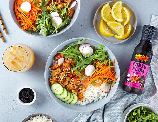 Recipe Ponzu Chicken Rice Bowl