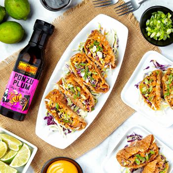 Recipe Ponzu Salmon Wonton Tacos S