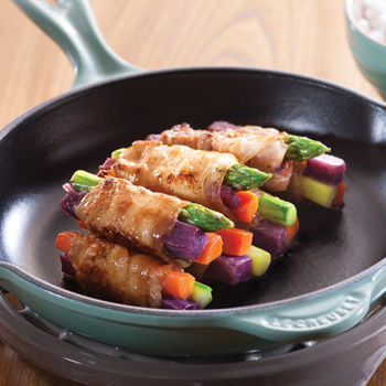 Recipe Pork and Veggie Bundles S