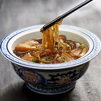 Recipe Pork Belly Stewed Mung Bean Noodles S