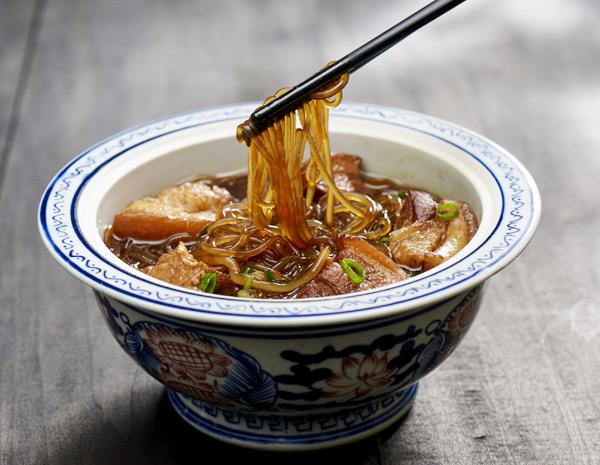 Recipe Pork Belly Stewed Mung Bean Noodles