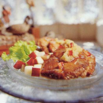 Recipe Pork Chop with Apple Sauce S