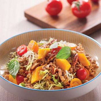 Recipe Pork Mango and Walnut Salad S