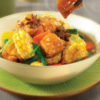 Recipe Pork Rib Stew with Mixed Vegetables S