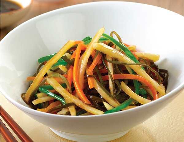 Recipe Potato and Seaweed Slaw