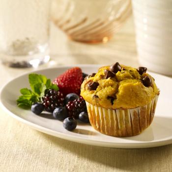 Recipe Pumpkin Muffins with Lee Kum Kee Plum Sauce S