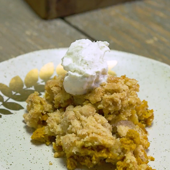 Recipe Pumpkin Pie Crisp S