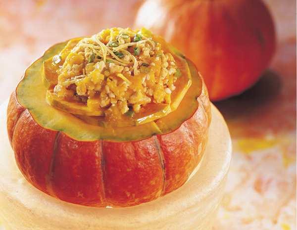 Recipe Pumpkin with Minced Chicken