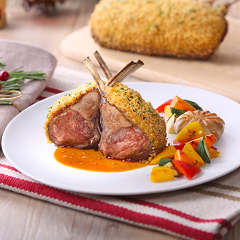 Recipe Rack of Lamb Provencal with Premium Soy Sauce S