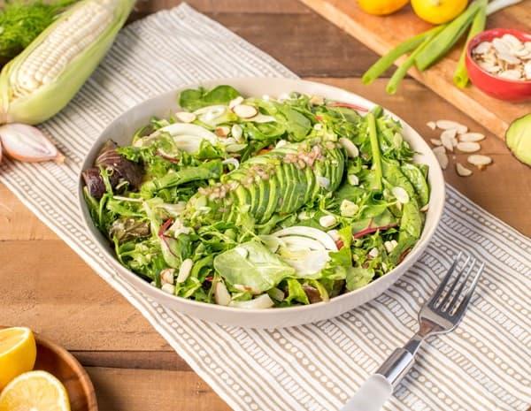 Recipe California Salad with Lee Kum Kee Panda Brand Oyster Sauce Vinaigrette