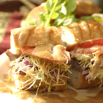 Recipe Roast Beef Sandwich with Hoisin Flavored Mayonnaise S