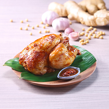 Recipe Roast Chicken in Soybean Sauce