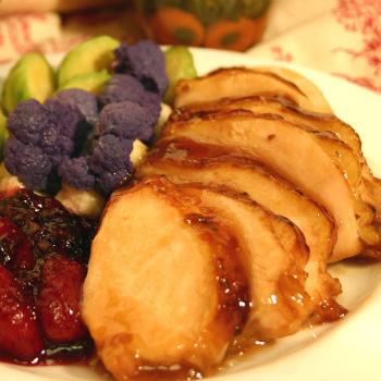 Recipe Roasted Chicken Breast with Mixed Berries